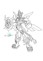 Armor Angemon by neoarchangemon