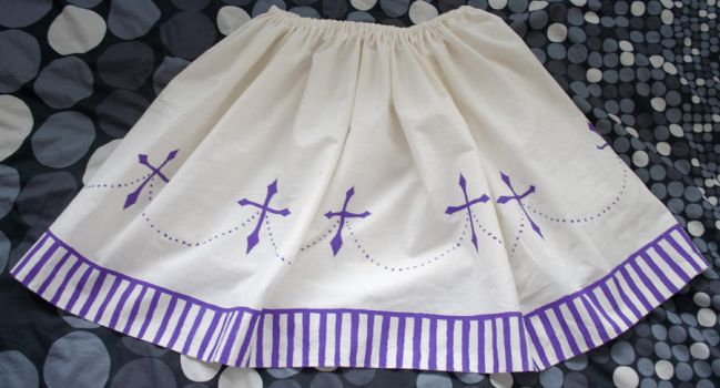 Lolita Cross Skirt by materiae