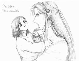 I Was a Child - sketch by Tenshi-Androgynous