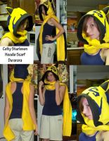 Durarara Celty Hoodie Scarf by RougeLeaderRed