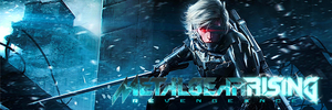 Metal Gear Rising: Revengeance Banner by ScottMcCartney