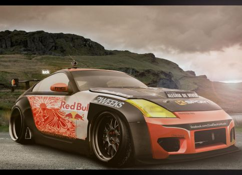 350z Time Atack by luckdesigner