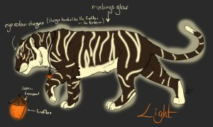 Adoptable - Light by CaledonCat