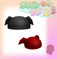 PL2- Cute Horn Hats -DL by MMDFakewings18