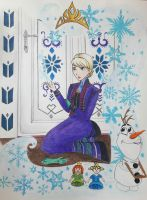 Frozen - Conceal, don't feel by Elveariel