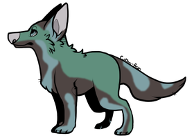 Mystery Dog #13 - wolf-king45 by Feralx1