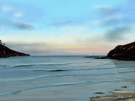Alma Bay by vanndra