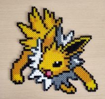 Jolteon perler bead #14 by isaletheia