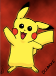 Pikachu by NameDanni
