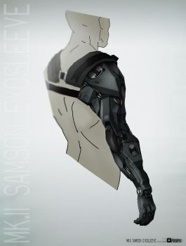 Obsidian Reverie Oliver_Arm back view by bradwright
