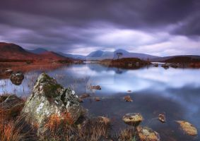 Loch Nah-Achlaise - Rannoch M by DL-Photography