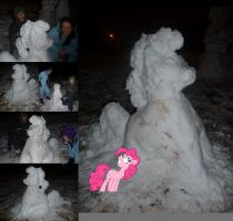 Pinkie Pie the Snow Mare! by Euphreana