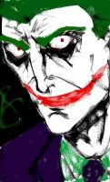 Joker Phone Sketch by TheHypotheticalNerd