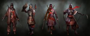 Assassin's Creed TLMC: Main Character Concepts by KangJason