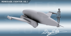 TOS Fighter V2.1 by GregStitz