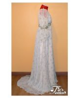Empire Gown Side by FaesFashions