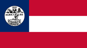 Tennessee State Secessionist flag (1861) by OddGarfield