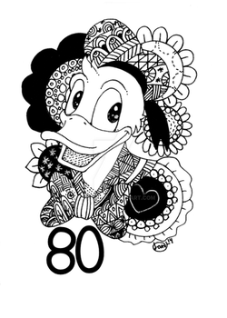 The Timeless 80year old Duck. by Landale