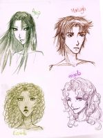 Eragon characters sketch by YokosoWild