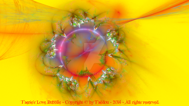 Faerie's Love Bubble (yellow version) by Faedou