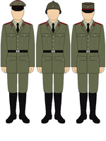 Yenostovia Parade Uniform and Different Hats by bar27262