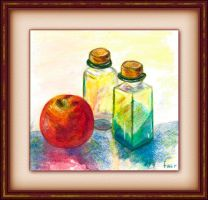 Still Life in Watercolours by fmr0