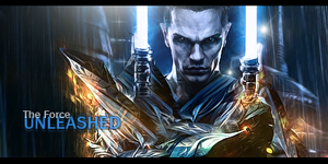 The Force Unleashed by SimpleGFX