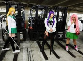 Forklifts and Ladies by YoruichiNyow