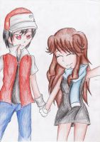 :CE: lets take a picture Red by Blue-Shine-Star