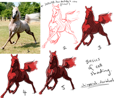 Cell Shading the Horse Tutorial by Whisperah