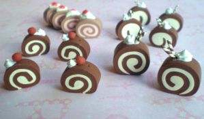 cake roll charms by jenyah