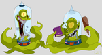 Kang And Kodos by Loko-Motion