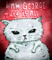 George teh cat by avid