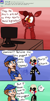 Ask FNAF 27 by Marie-Mike