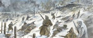 Winter War in the Frontline 7 by tuomaskoivurinne