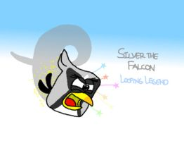 Silver the Falcon by AngryBirdsStuff