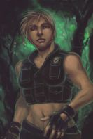 Mortal Kombat: Sonya Blade by rook-over-here