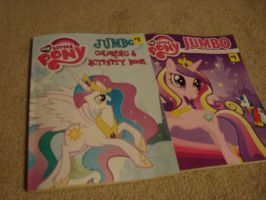 MLP Coloring Books by spidyphan2