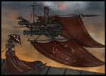 Airship - AETHERBOUND by ZoeStead