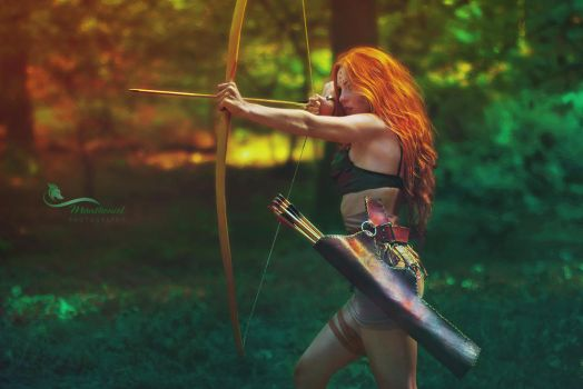 Forest Hunter by LucreciaMortishia