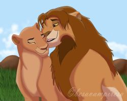 nala family by besavampiresa