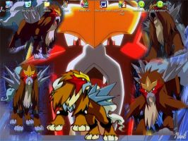 Entei by lil-baby-phoenix