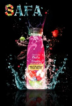 Safa fruits Juice Advert by safa-kadhim
