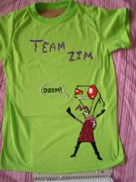 Team Zim Tee by Snowflakexxbabii