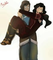 Lovable Korrasami by Blueberrycupcakes23