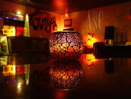 Coffee Lounge Candle by Pentacle5