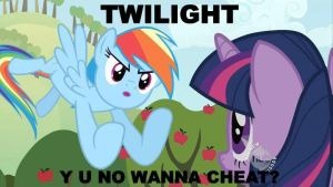 Twilight Doesn't Cheat by harpseal16