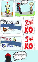 Organic Nuzlocke: Route 203: Battle With Barry by Awela-Mizuko