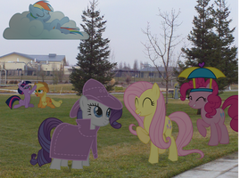 My Little Fluttershy: Friends at The Park PART ONE by JudgementMaster