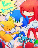 sonic 22nd by mas2a